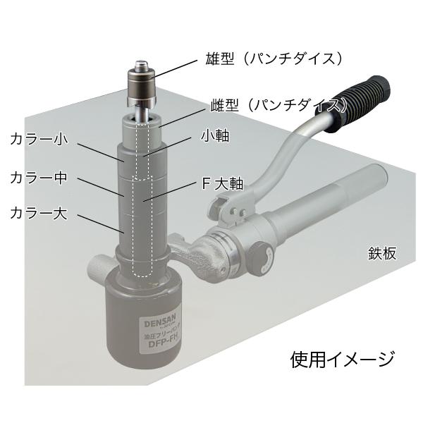 油圧フリーパンチ(薄鋼セット)