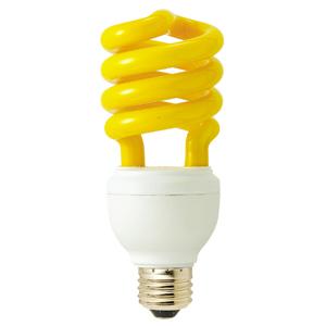 電球形蛍光ランプ(スパイラル型) 防虫ランプ