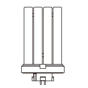 インバーターフラットライト 交換ランプ
