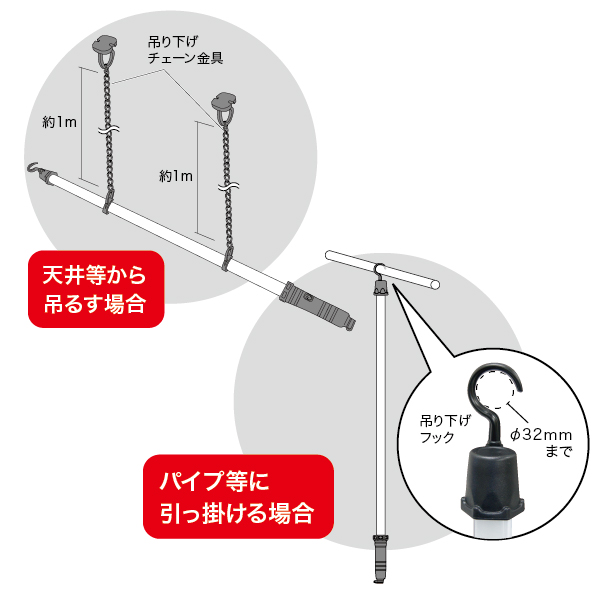 LEDパランドル(充電タイプ)