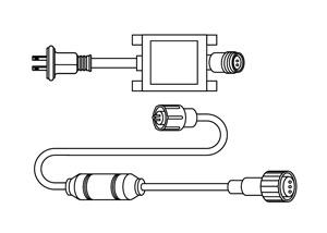 LEDソフトネオン 整流器(セット)