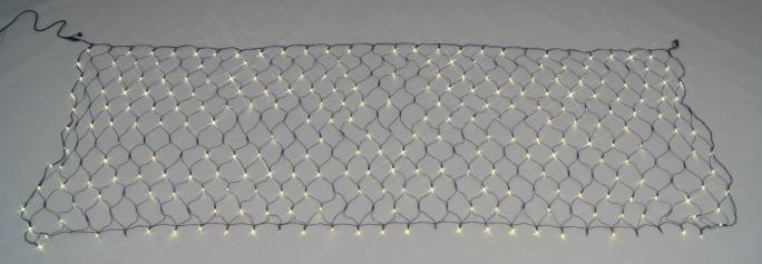 LEDルミネーション(連結タイプ) LEDクロスネット(ランダム点滅タイプ)
