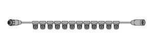 LEDカーテンフォール専用ストリングベース(SJシリーズ)