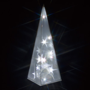 LEDクリスタルモチーフ(電池式)